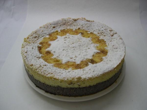 Käse-Mohn-Torte